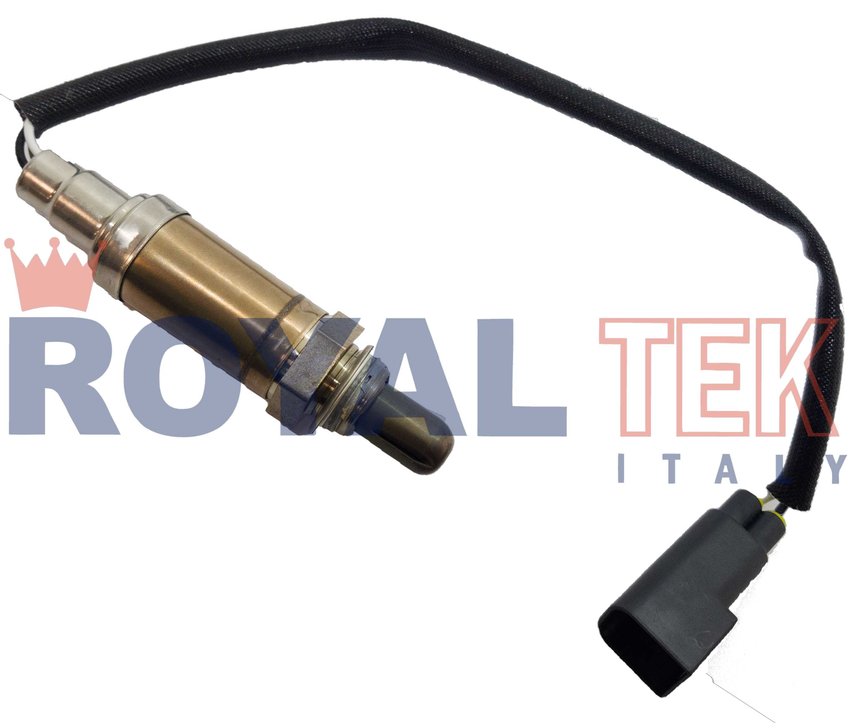 RT 6010 - SONDA LAMBDA ROYALTEK FORD FIESTA  KA 1.3 Endura  4 CABLES - LARGO DEL CABLE 260mm --- BOSCH 0258003714 OEM 1001702